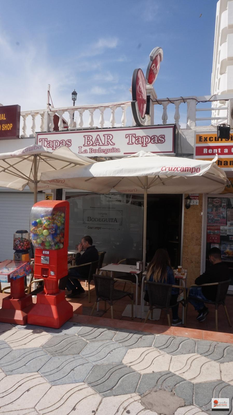 RESTAURANT BAR IN FIRST LINE OF BEACH-BENALMADENA COSTA